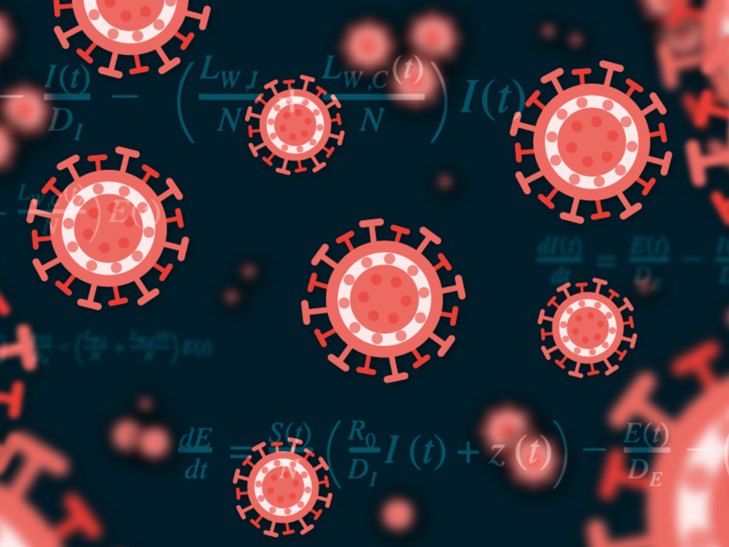 Viruses and mathematical models