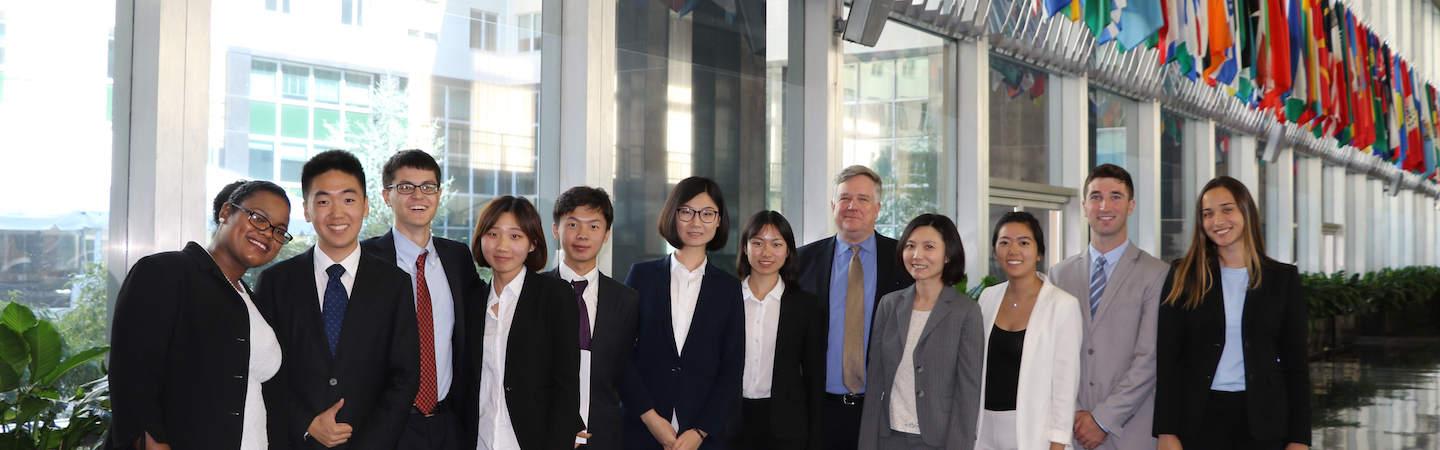 2017-2018 U.S.-China Student Fellows Meet in Washington, September 2017