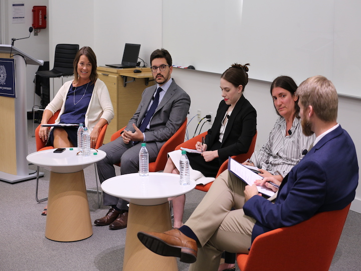 Panelists discuss the role of young people in the Catholic Church