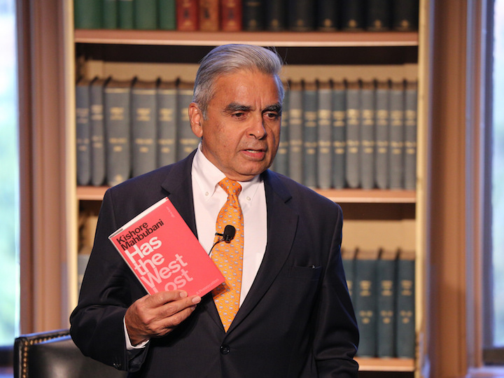 Kishore Mahbubani on his new book Has the West Lost It? A Provocation