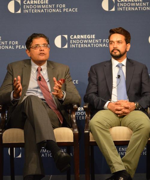 Georgetown Hosts Indian Parliamentarians