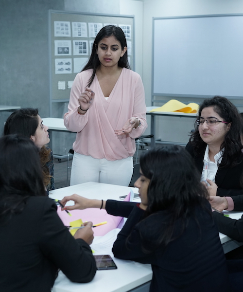Designing for Social Innovation: India Initiative Student Fellows Host Workshop with the Indian School of Management and Entrepreneurship