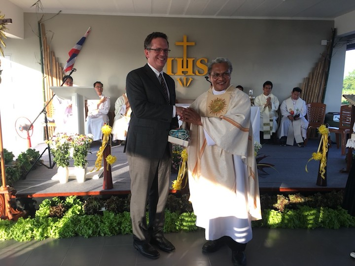 Banchoff and Agustinus Pitoyo, S.J., the Jesuit Superior in Thailand