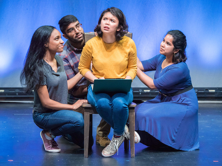 """The Lab's production of """"I Pledge Allegiance,"""" featuring Georgetown alumni and students"""