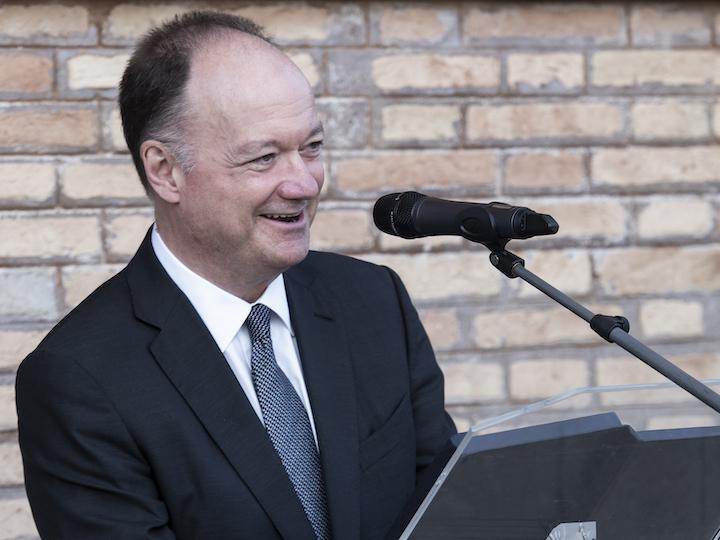 President John J. DeGioia introduces keynote speaker José Casanova