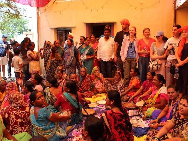 The India Innovation Studio was invited to join wedding preparations in Mhaswandi village, Maharashtra.