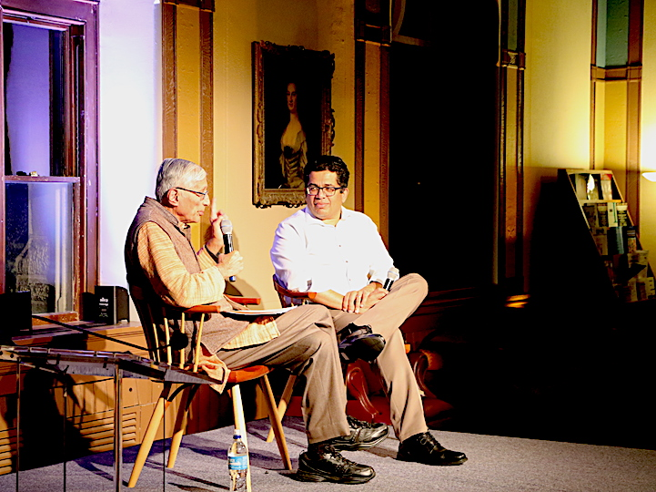 Dr. Rajmohan Gandhi speaks with India Initiative Director Irfan Nooruddin about nationalism