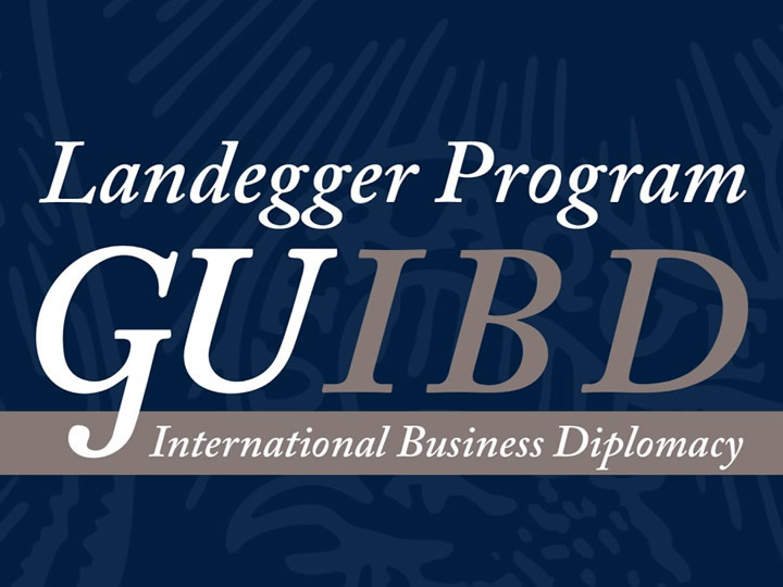 Landegger Program International Business Diplomacy Logo