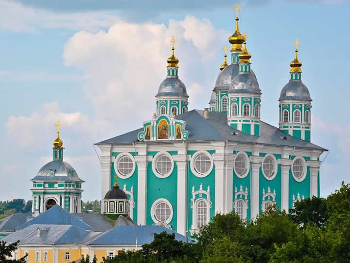 Smolensk Assumption Cathedral in Russia