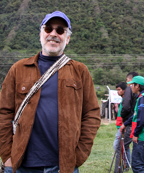 Marc Chernick at Consejo Regional Indígena del Cauca 2013 Congress