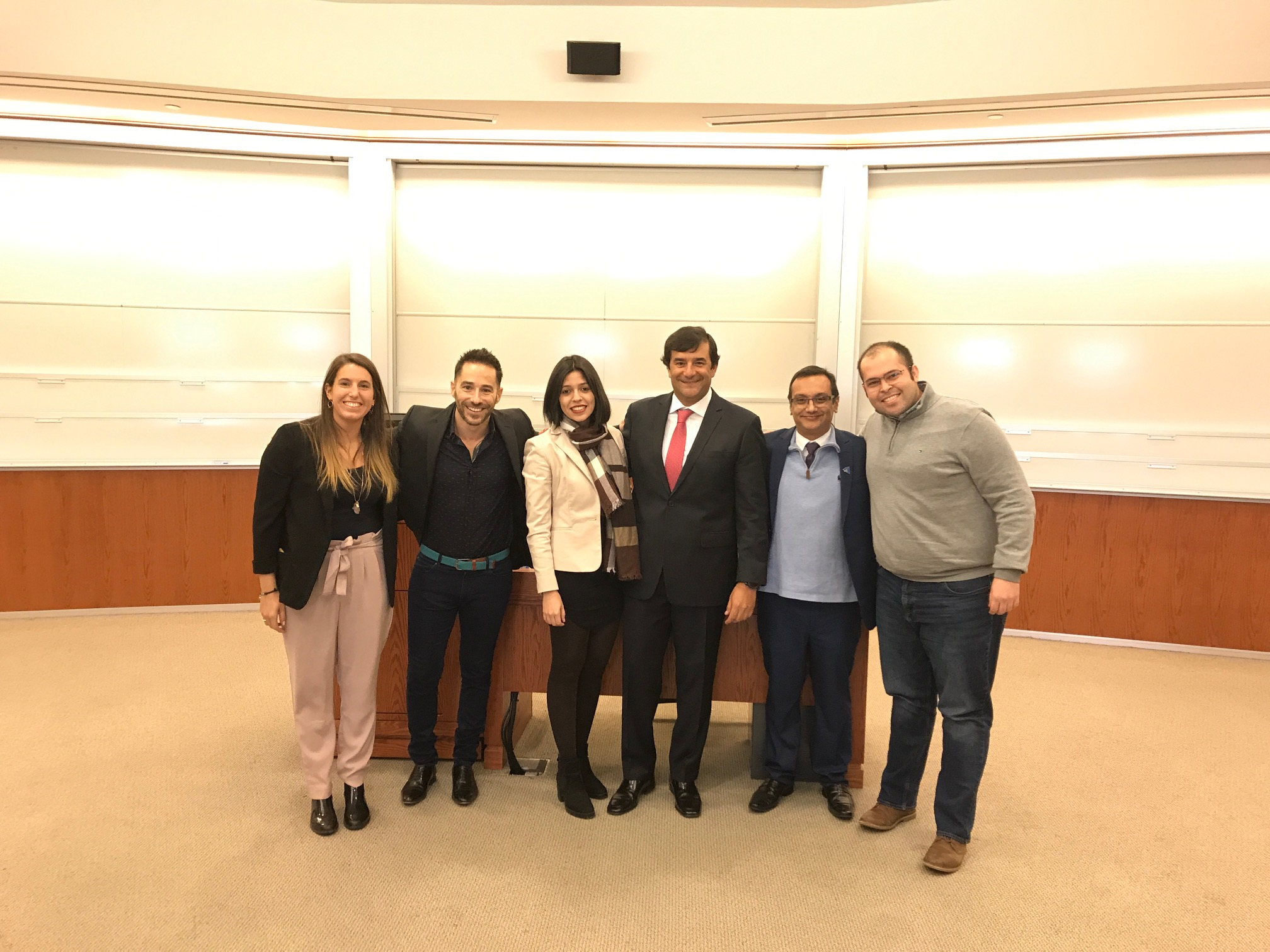 First Place Winners of GCL 2019 AI Challenge with Representatives from Microsoft