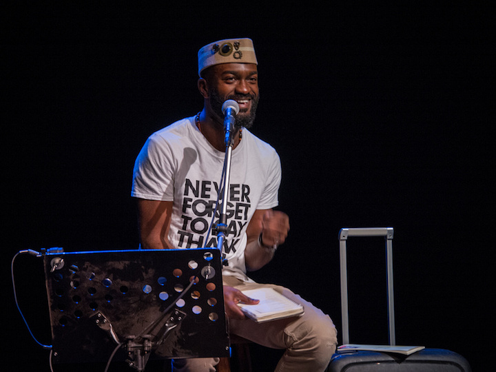 """Inua Ellams in """"An Evening With An Immigrant"""""""