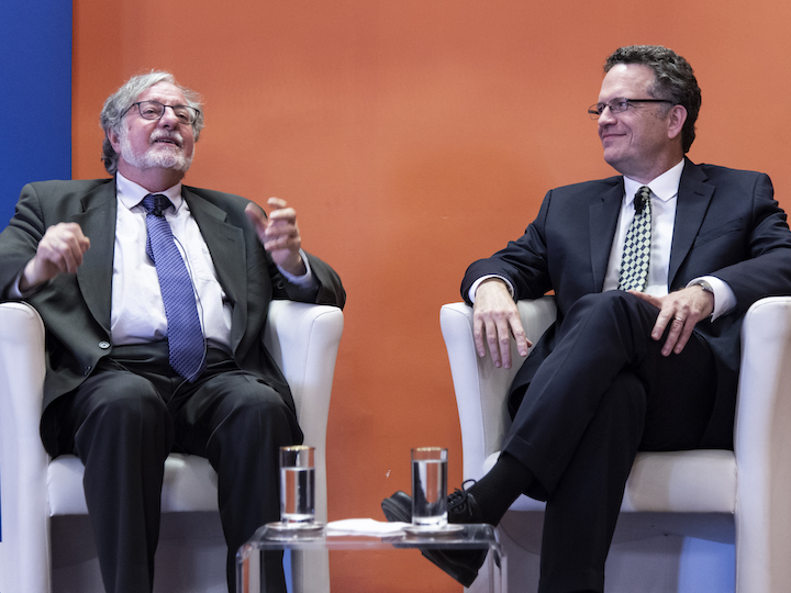 José Casanova and Thomas Banchoff  in conversation