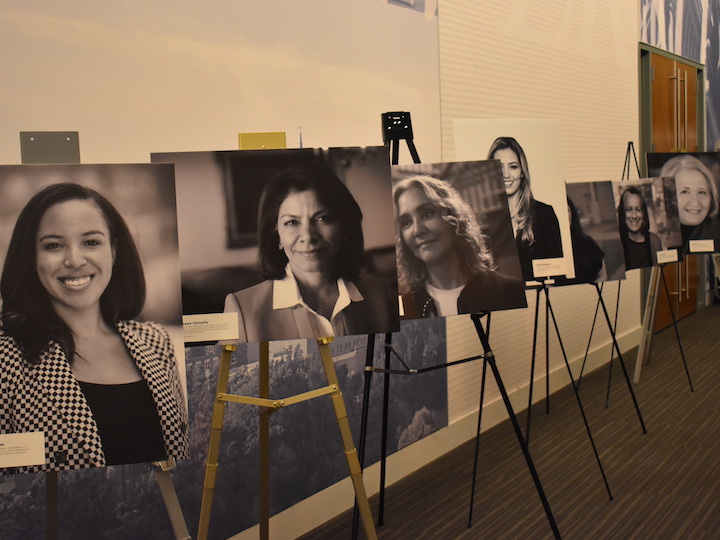 WOMAP launched a photo exhibition of extraordinary Georgetown women