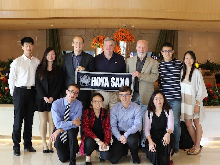 U.S.-China Student Fellows Beijing meeting.