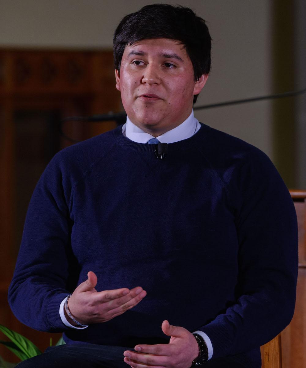 Mizraim Belman Guerrero sharing his journey.