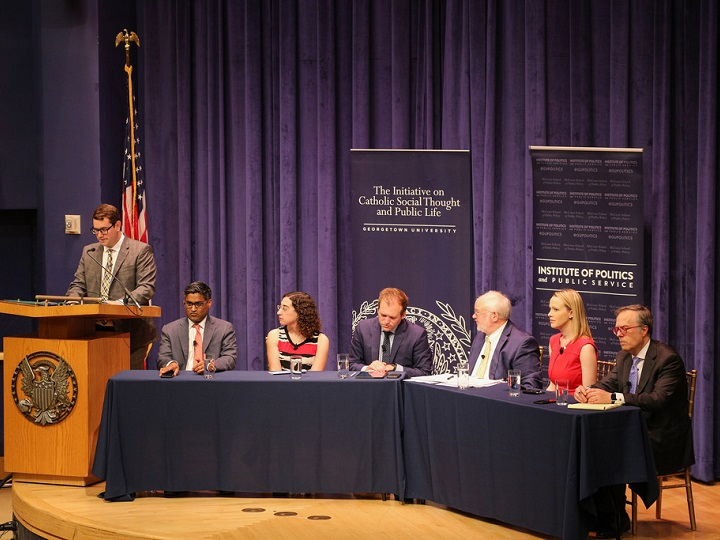 Panelists at the Public Dialogue on Faith and the Republican Party