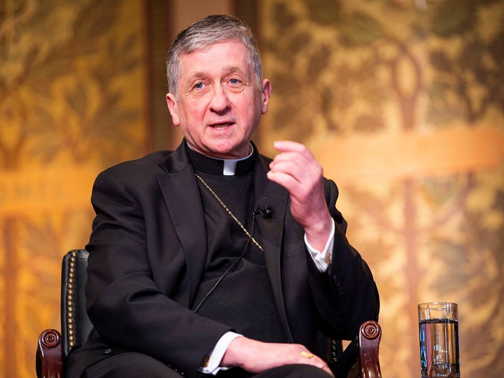 Cardinal Blase Cupich discusses political divisions within the nation