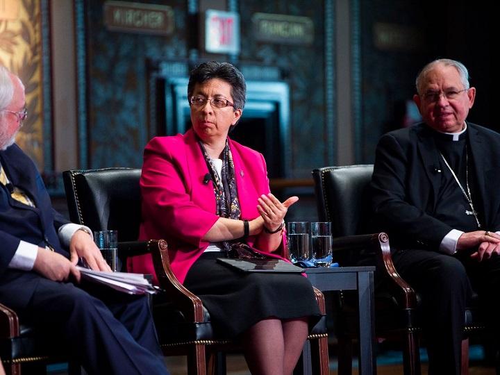 Sister Teresa Maya shares her thoughts on overcoming polarization