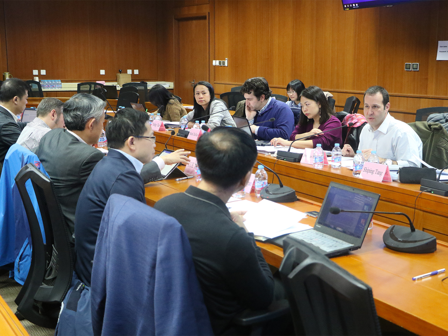 The U.S.-China Research Group on Business and Trade second meeting in Beijing December 1-2, 2018.