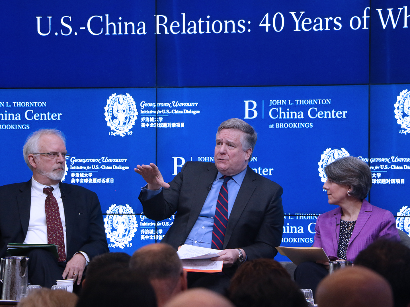 Dennis Wilder discusses working on Taiwan policy during his time in the Bush administration.