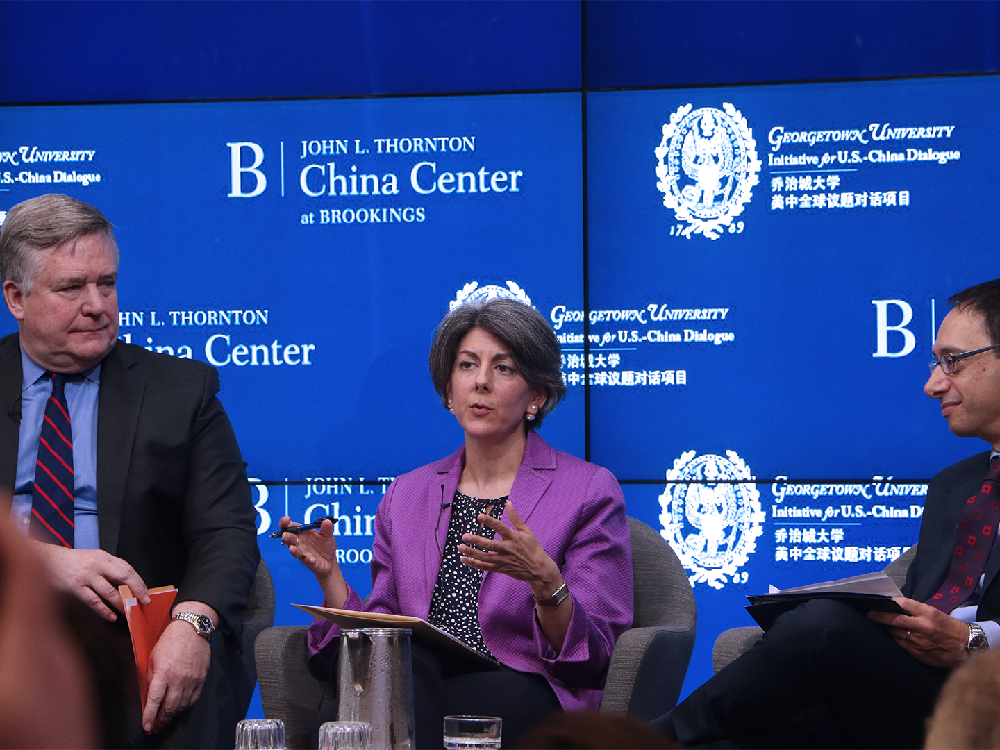 Amy Celico describes her time working on trade issues between the U.S. and China.
