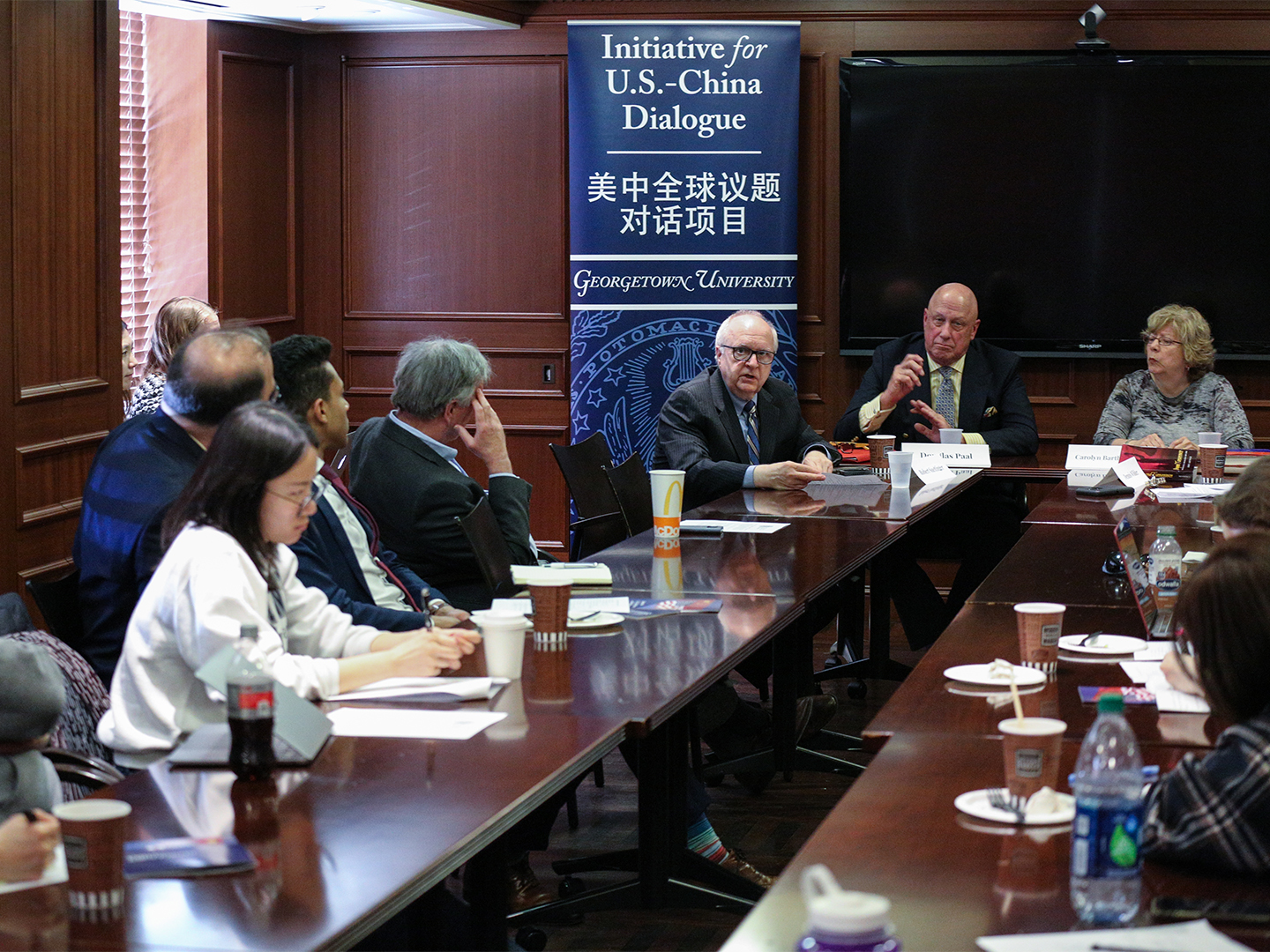 The speakers answer audience questions about prospects for future crisis management between the U.S. and China.