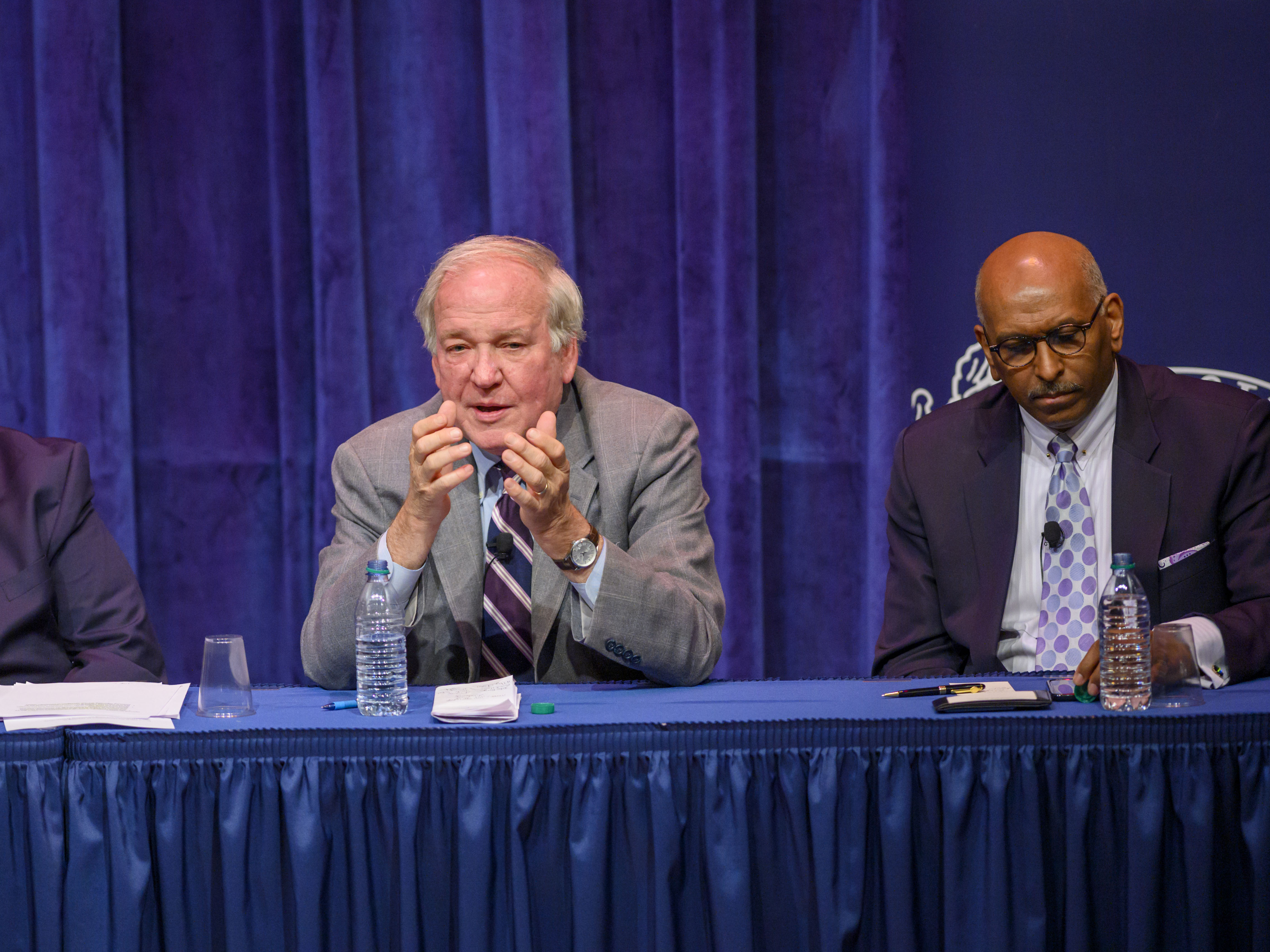 Panelist Michael McCurry offers insights on the intersection of religion and the upcoming U.S. Presidential election.