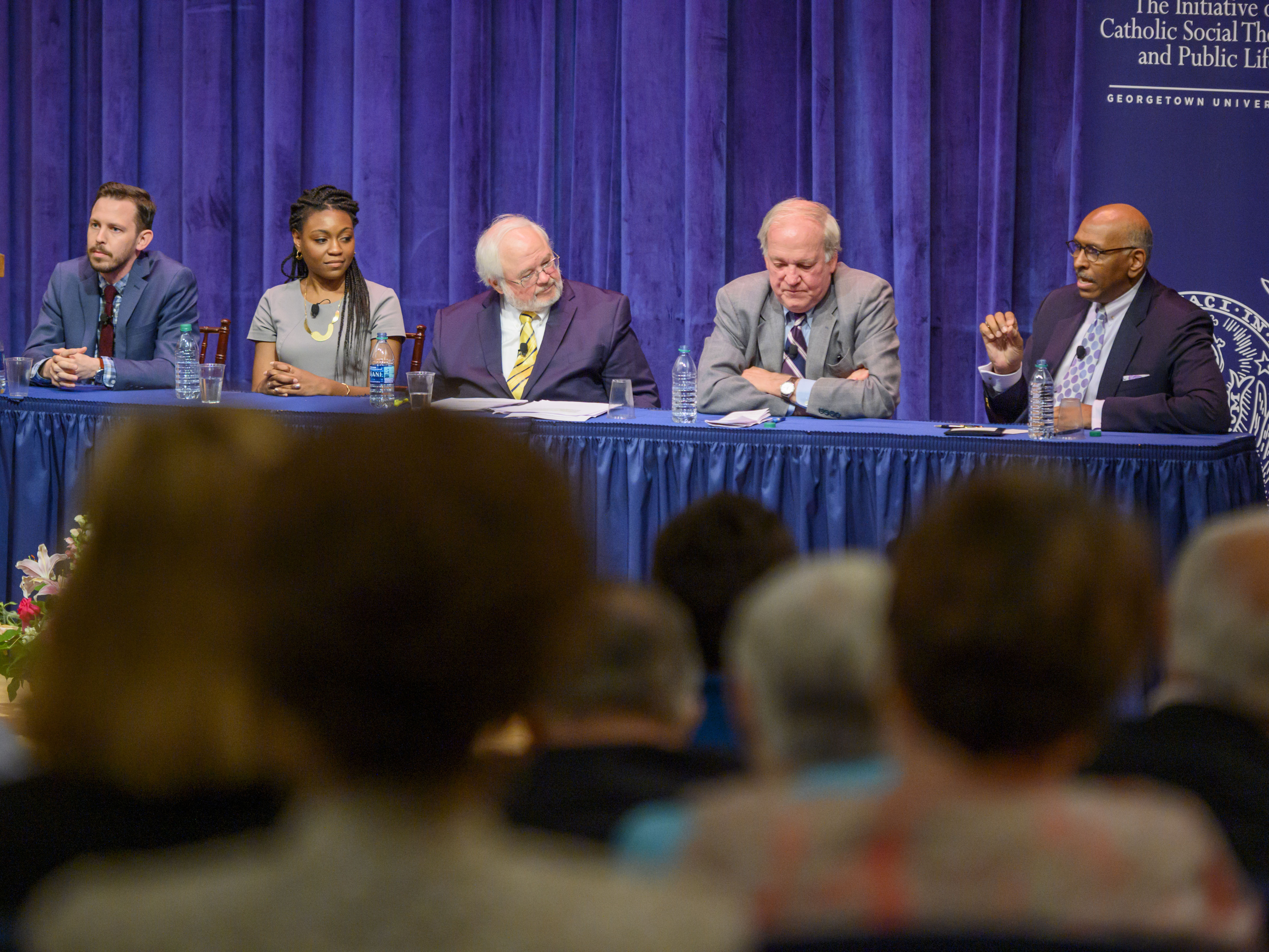 Panelist Michael Steele talks about the role of the public in shaping the 2020 Campaign.