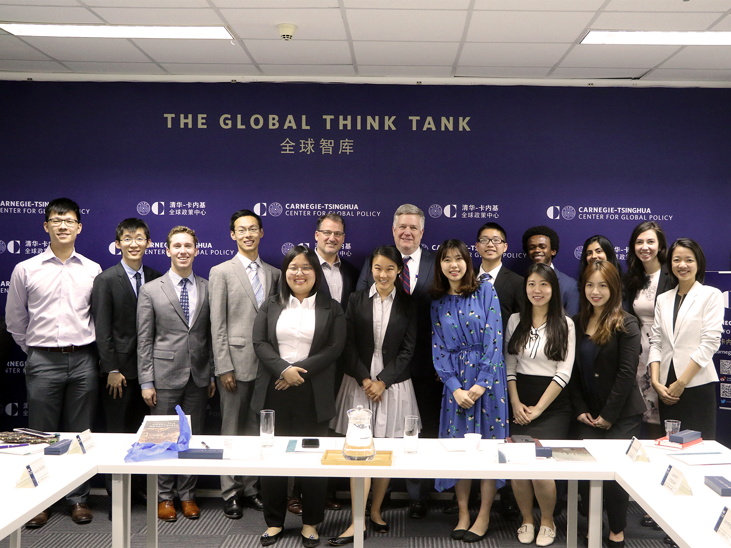 Student Fellows and Carnege-Tsinghua Center Young Ambassadors.