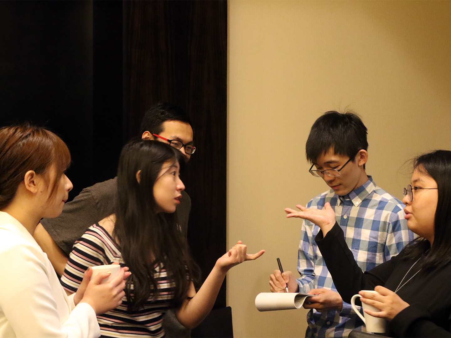 The Chinese student fellows discuss how their parents view their generation today.