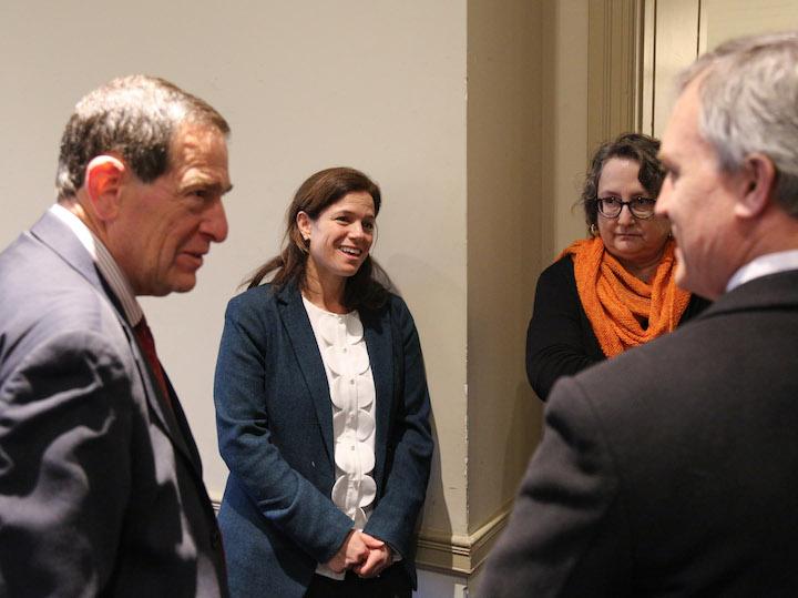 Ambassador Kolker and Rebecca Katz at Centenary Project dinner