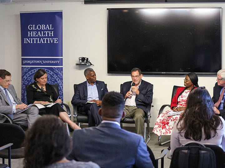 Panelists discuss how religion has helped and hurt the global HIV/AIDS response.