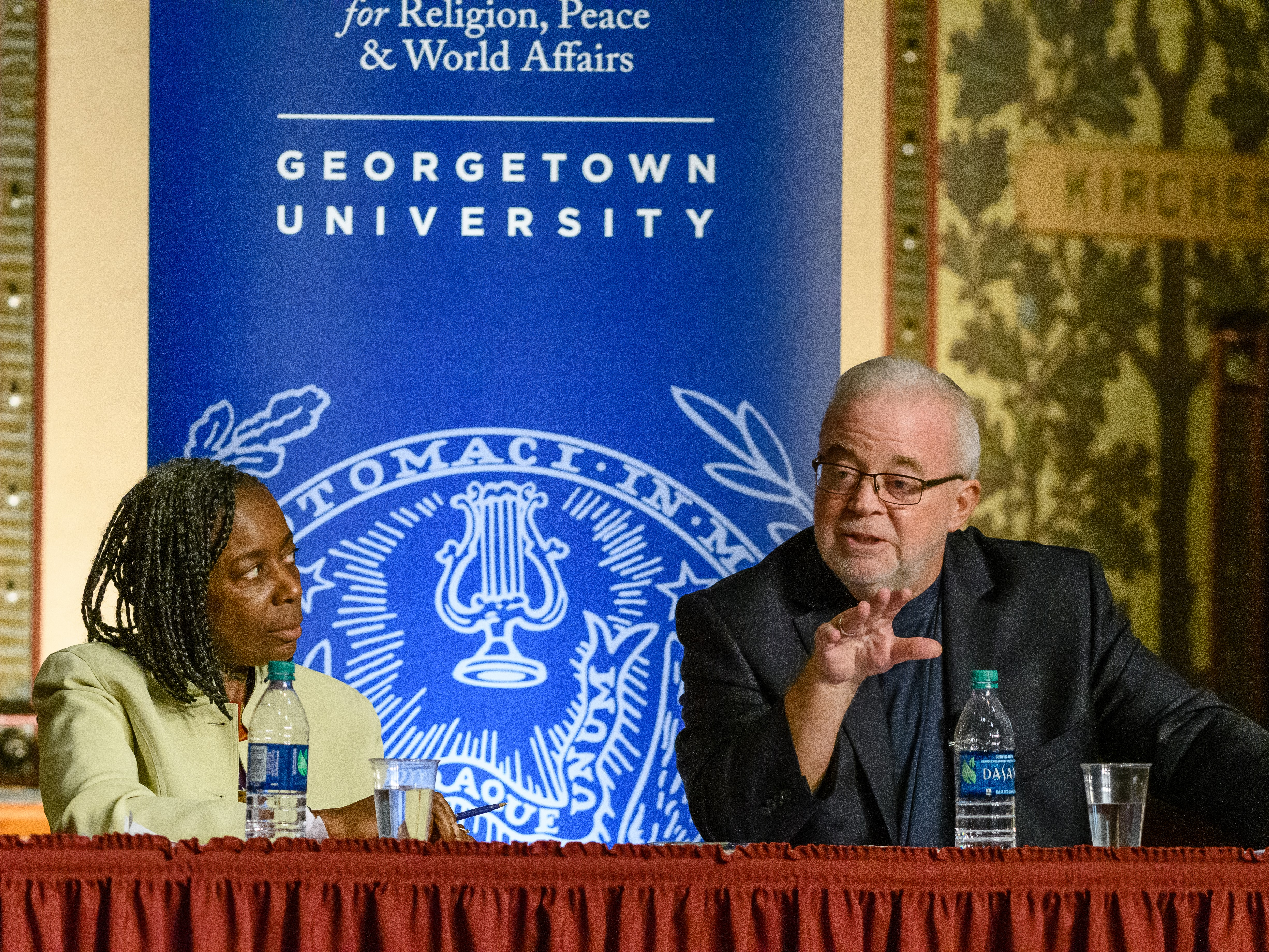 Panelist Jim Wallis offers insights on how to use faith as a means of unity, rather than division, when discussing race and politics.