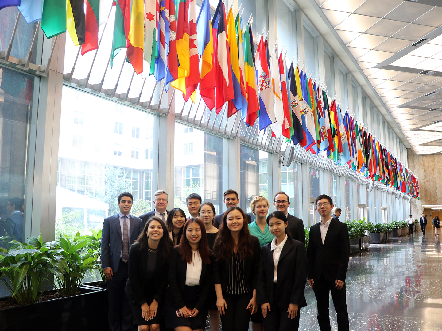 Student Fellows with Dennis Wilder at the State Department