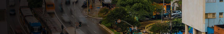 Una calle de Sao Paulo
