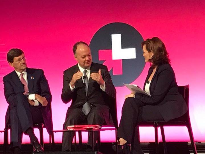 President DeGioia discusses Georgetown's commitments to HeForShe during a summit in New York
