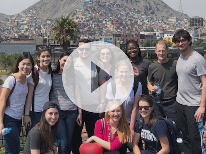 Video Preview of students on spring break with CLAS in Peru