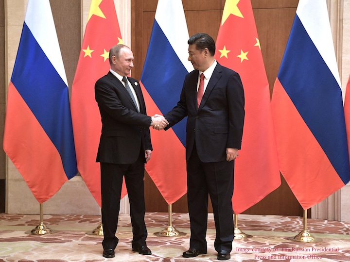 近期活动:俄罗斯在中美关系中的角色
