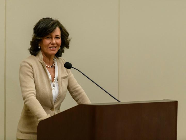 Santander Group Executive Chairman Ana Botín Delivers Keynote Address Regarding Social Responsibility in Finance