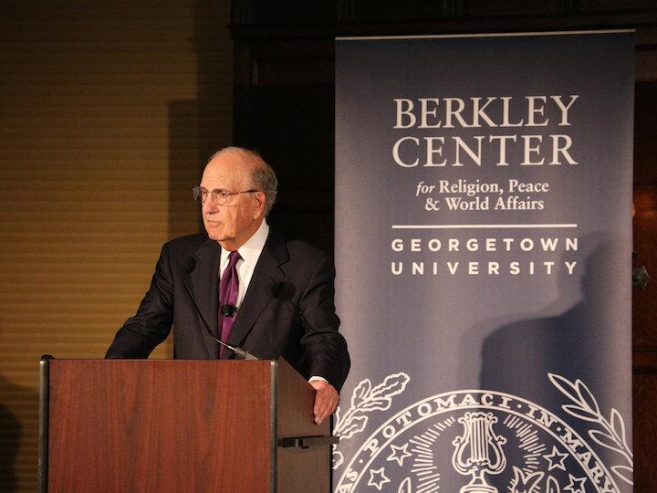 Senator George Mitchell Headlines Celebration of Twentieth Anniversary of the Good Friday Agreement