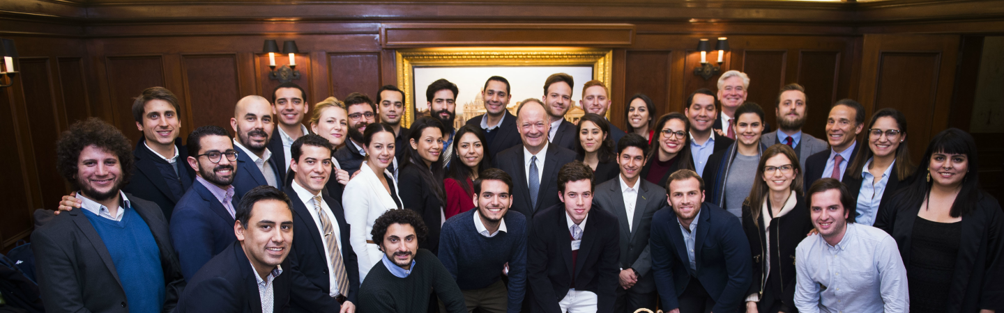 President DeGioia with GCLs