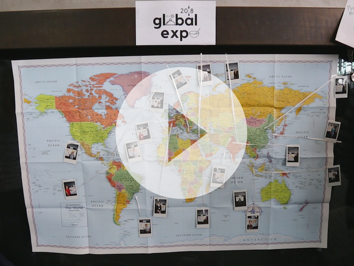 Map of the world from Global Expo Video