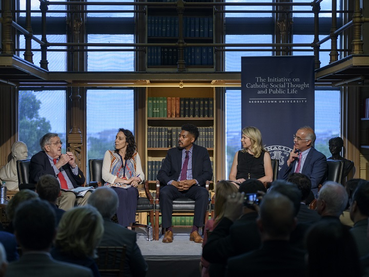 Panel sees return to respect for institutions as antidote to polarization