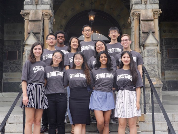 2018-2019 US China Student Fellows Cohort