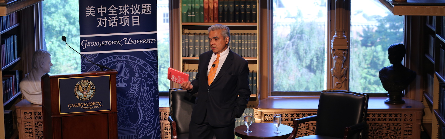 Kishore Mahbubani discussing his book Has the West Lost It? A Provocation