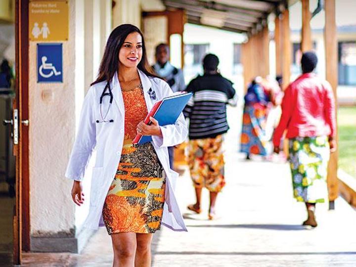 Georgetown Medicine Magazine Features Global Health Expert Faculty, Alumni