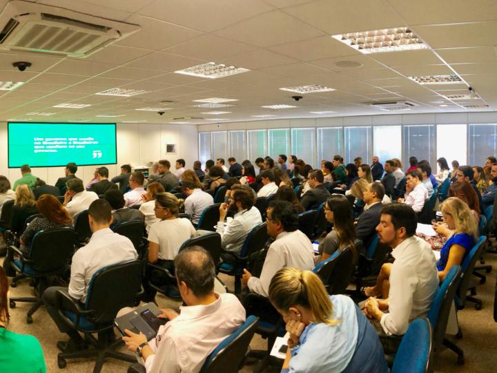 Evento inaugural de ILG 2018 Brazil