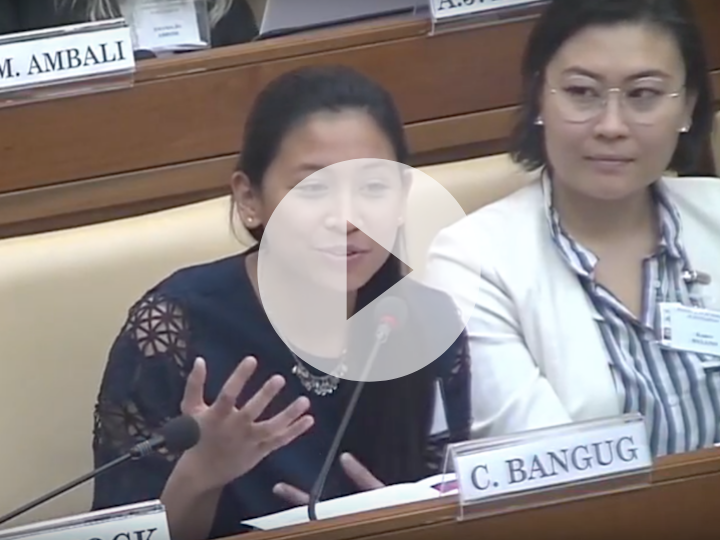 VIDEO: Camille Bangug (SFS'19) Represents Millennium Fellowship at the 2018 Vatican Youth Symposium