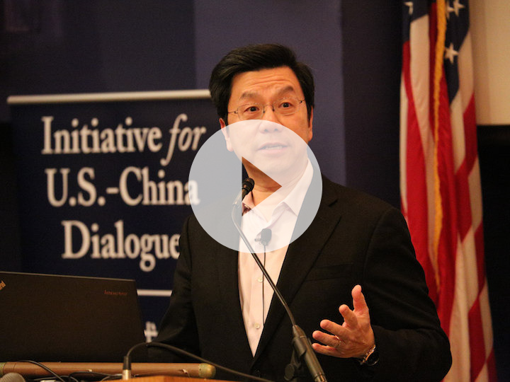 VIDEO: Kai-fu Lee Talks About Overcoming Workaholism at Georgetown University